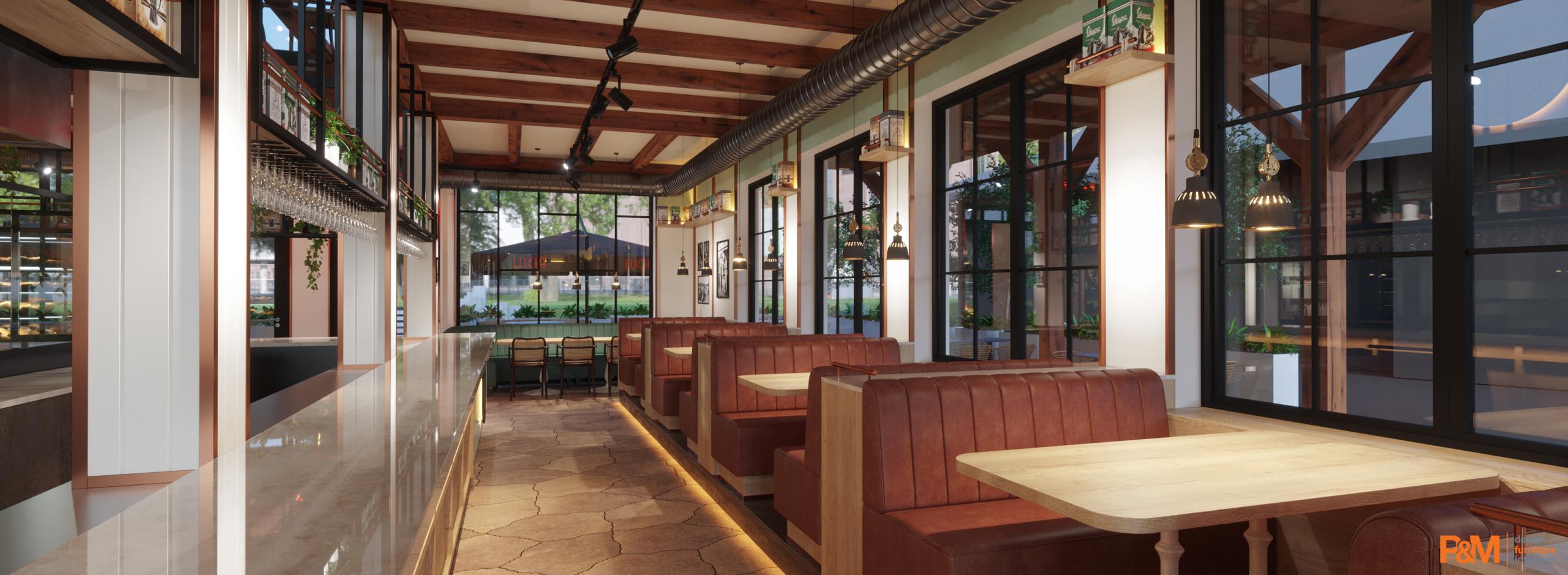 LUCIA Restaurant Ansicht drinnen
