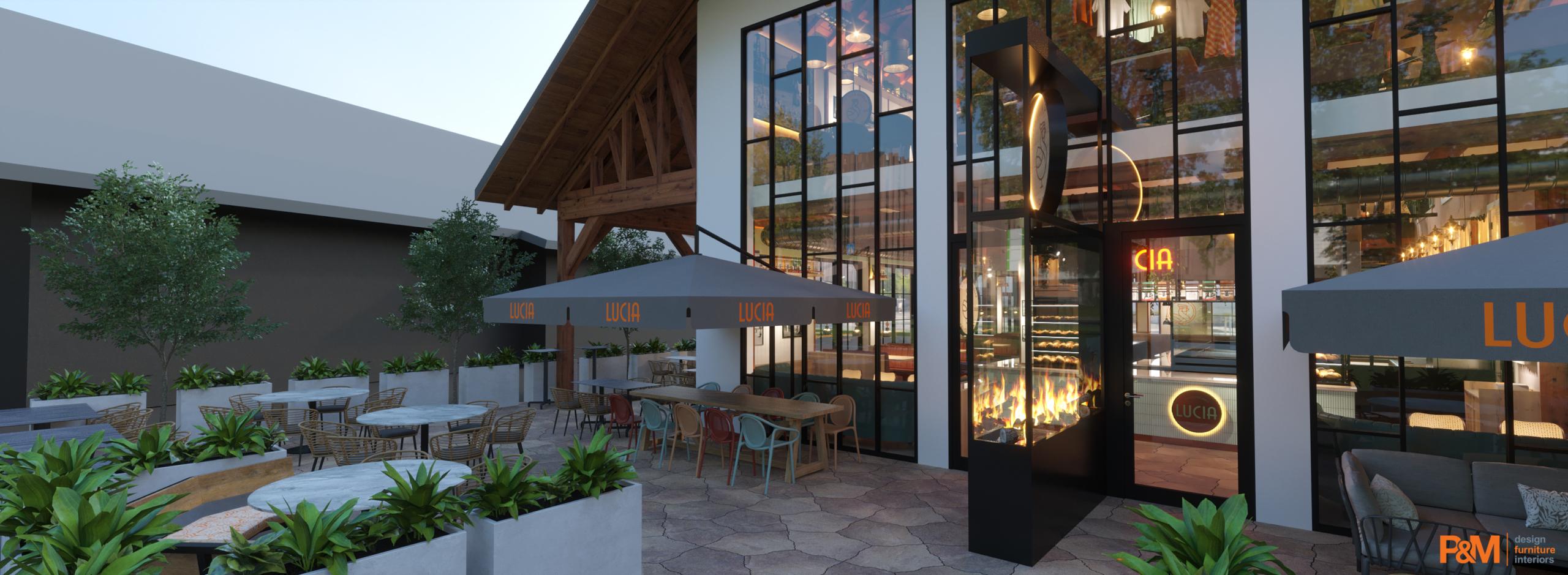 LUCIA Restaurant Ansicht draußen